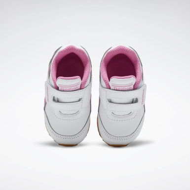 Girls Classics White Reebok Royal Classic Jogger 2 Shoes - Toddler