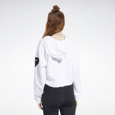Kvinder Fitness & Training White Meet You There Hoodie