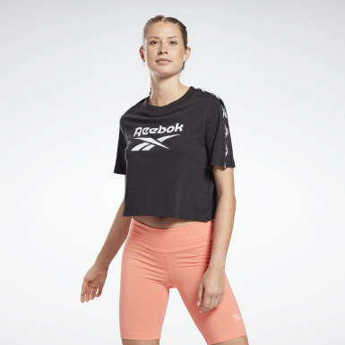 Women Dance Black Training Essentials Tape Pack Tee