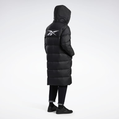 Classics Core Long Down Jacket Schwarz
