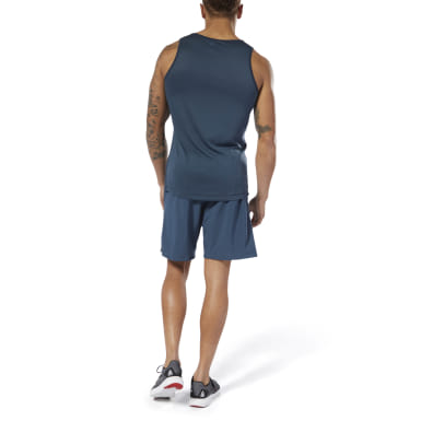 Men Studio Blue LES MILLS® SpeedWick Speed Shorts