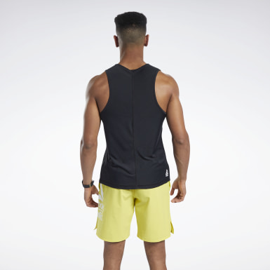 Men Training Black Reebok CrossFit® ACTIVCHILL Tank Top