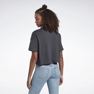 Camiseta crop top Classics Trail