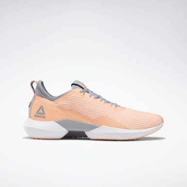 Women Running Pink Reebok Interrupted Sole Women's Shoes