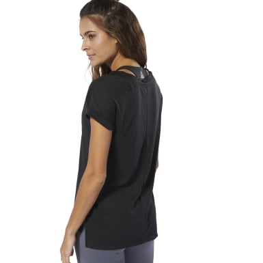 T-shirt WOR Supremium Noir Femmes Fitness & Training