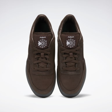 Men Classics Brown Club C Revenge Shoes