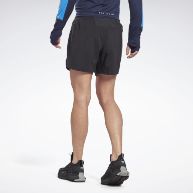 Men Trail Running Black Run ACTIVCHILL 5-Inch Epic Shorts