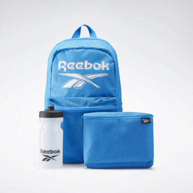 Zestaw Backpack Lunch Set Niebieski