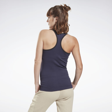 Women Studio Purple Studio Maternity Tank Top