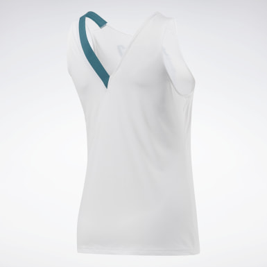 Women Cross Training White Reebok CrossFit® ACTIVCHILL Tank Top