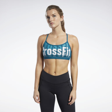Women Cross Training Reebok CrossFit® Medium-Impact Skinny Bra