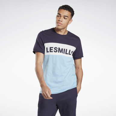 Men Studio Purple LES MILLS® Tee