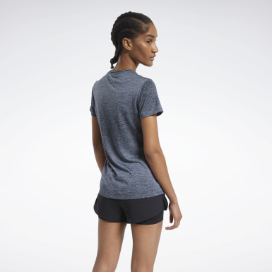 Women Running Grey One Series Running Tee