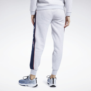 Women Classics Grey Classics Linear Fleece Pants