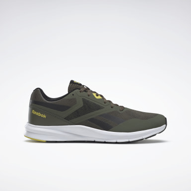 Men Running Green Reebok Runner 4.0 Shoes