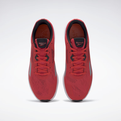 Men Running Red Reebok Runner 4.0 Shoes