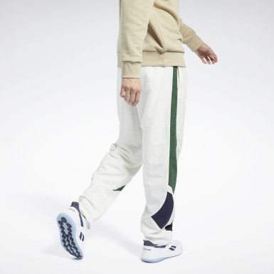 Classics White Classics Twin Vector Tracksuit Bottoms