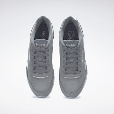 Men Classics Grey Reebok Royal Glide Ripple