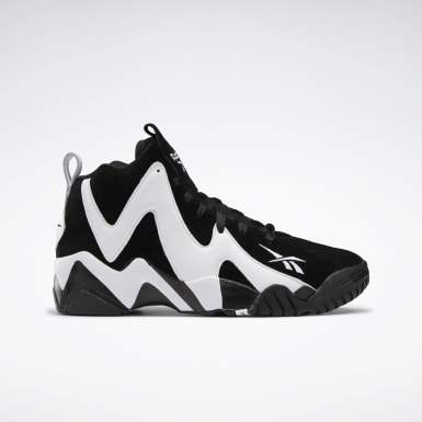 Men Classics Black Kamikaze II Men's Basketball Shoes