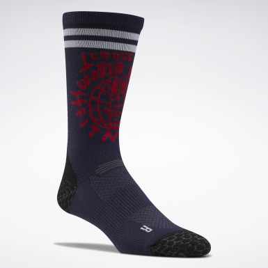 Cross Training Purple CrossFit® Crew Socks