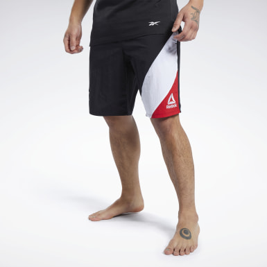 Men Fitness & Training Black UFC Fan Gear Capsule Shorts