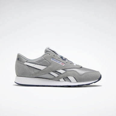 Men Classics Silver Classic Nylon Shoes