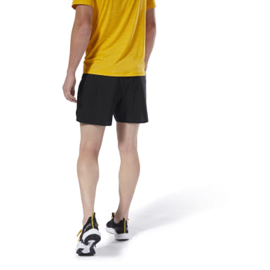 Men Running Black Run Essentials Two-in-One Shorts