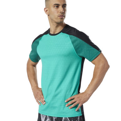 Men Fitness & Training Green One Series Training SmartVent Move Tee