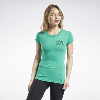 Women Training St. Patrick's Day Run Tee