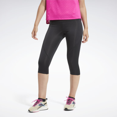 Capri Workout Ready Pant Program Preto Mulher Fitness & Training