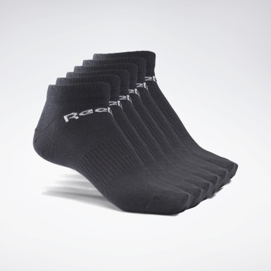 Fitness & Training Black Active Core Low-Cut Socks 6 Pairs