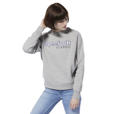 Sweat-shirt en molleton avec logo Classics