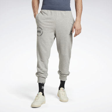 Men MMA Grey UFC Fan Gear Joggers