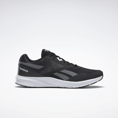 Men Running Black Reebok Runner 4 Men's Running Shoes