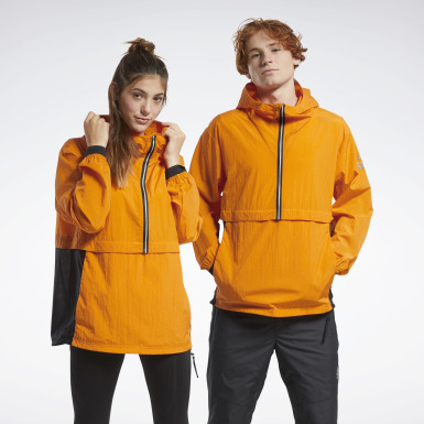 Outdoor Orange One Series Running Anorak