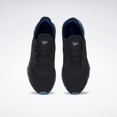 Men Running Black Reebok FLASHFILM™ 2.0 Shoes