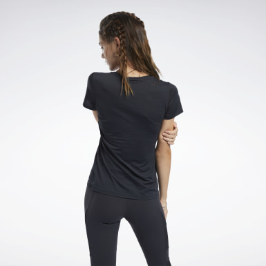 Women Fitness & Training Black ACTIVCHILL Tee