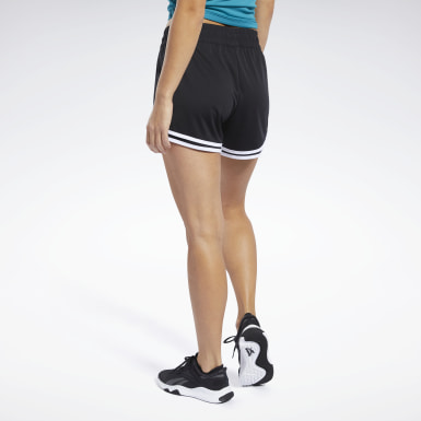 Women Pilates Black Workout Ready Shorts