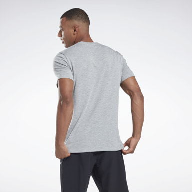 Men Fitness & Training Grey Graphic Series Speedwick Tee
