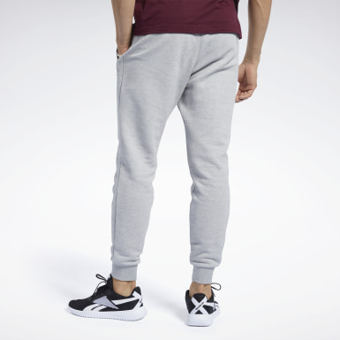 Men Training Grey Training Essentials Mélange Pants
