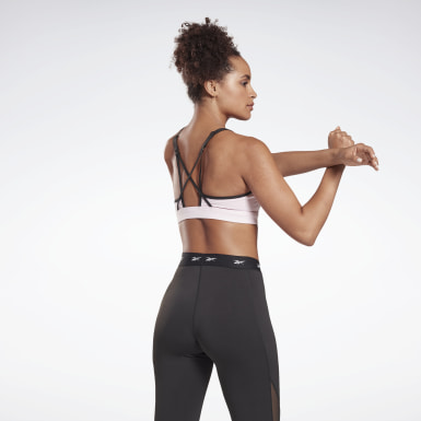 Dam Studio Rosa Reebok Hero Medium-Impact Strappy Bra
