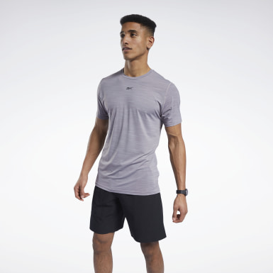 Men Cross Training Grey ACTIVCHILL Move Tee