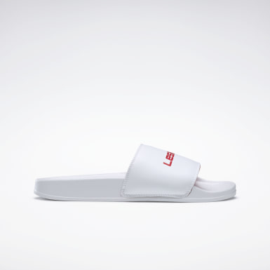 Swimming White LES MILLS® Classic Slides