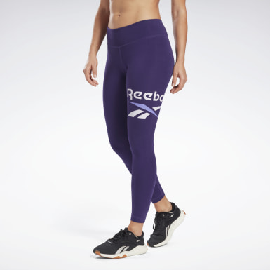 Frauen Fitness & Training Reebok Identity Logo Leggings