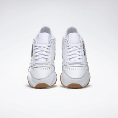 Men Classics White Classic Leather Pride Shoes