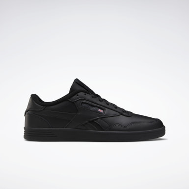 Men Classics Black Reebok Club MEMT Men's Shoes