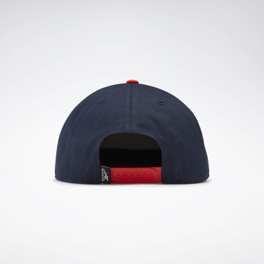 Gorra Active Core Linear Logo Azul Running