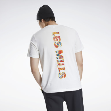 Men Studio White Les Mills® CNY Graphic T-Shirt