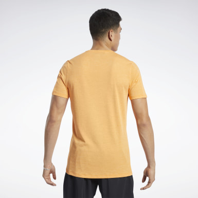 Men Training Orange ACTIVCHILL+COTTON Tee