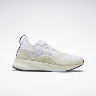 Women Running Beige Reebok Fusium Run 2 Sock Women's Shoes
